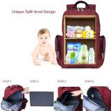 La Chine à la mode bébé Diaper sac à dos sac momie avec conception Split-Level