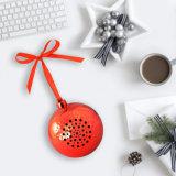 Música portátil audio bonito do presente do ornamento da árvore do festival do feriado do som da caixa do altofalante de Bels do Natal altofalante sem fio novo de Bluetoot da mini