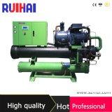 capacidad de enfriamiento 570kw/150ton para el refrigerador refrigerado por agua del campo de construcción