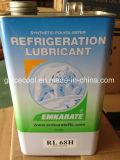 5L Emkarate de alta qualidade do compressor de refrigeração do óleo lubrificante rl68h