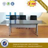 Le verre&placage en acier inoxydable de Nouveaux Produits Mobilier de bureau (NS-GD059)