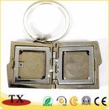 Catene chiave della foto del metallo in bianco su ordinazione del blocco per grafici