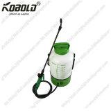 Nachladbarer Laufkatze-Sprüher des Garten-8L, Batterie-Sprüher mit Rädern
