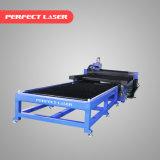 Machine de découpage de plaque en acier/feuille de laser de fibre de haute précision avec le Tableau de fonctionnement d'échange