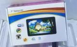 7 pouces Processeur double coeur d'Android tablette pour enfants colorés pour Mini-PC