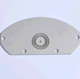 6063 T5 profil aluminium extrudé avec usinage CNC