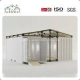 Contenitore modulare del panino prefabbricato con il tetto di timpano della struttura d'acciaio