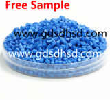 Blauwe Draad Masterbatch en Kabel Plastic Masterbatch