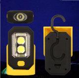 indicatore luminoso esterno del lavoro della base magnetica LED della batteria della PANNOCCHIA 3W con l'amo