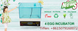 Hhd 4 Ei-automatisches Geflügel Egg Inkubator für Verkauf Yz9-4