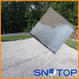 Tapis de retenue de gravier, allée de gravier Tapis d'appui, sentier de gravier le tapis de support en plastique