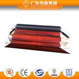 Perfil de alumínio de madeira da extrusão da isolação térmica para a porta