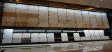 Telhas de assoalho Polished da porcelana do material de construção dobro de cristal branco do carregamento