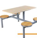 Muebles de Comedor barato asiento 4 mesa de restaurante