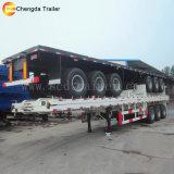 Chengda Безбортовой 40t 40 фут 3 мостов емкость прицепа