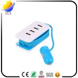 보편적인 차 충전기 다중 USB는 비용을 부과 포트를 연장한다
