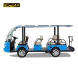 11人の乗客の電池式の標準的な電気観光車