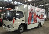 Dongfeng 6 Vrachtwagen van de Prestaties van het Stadium van 30 M2 van Wielen de Mobiele