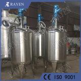 Tanque de líquido sanitarias tanque de almacenamiento de alimentos de acero inoxidable