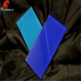 witte Geschilderde Glas van 4mm het ultra/het Glas van het Baksel (Zwart, Groen, Blauw, Geel, Roze)