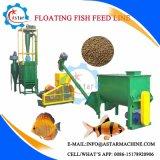 中国製タンザニアの魚の食料生産ライン