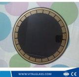 Cheminée de verre céramique noir/vitre céramique/Cuisinière à induction vitrocéramique