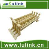 100 pares de bloques de cableado de la gestión de cables con las piernas