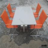 Tabella di pranzo di superficie solida delle presidenze moderne di alta qualità di Kingkonree