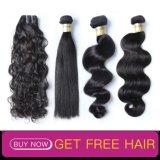 Индийский человеческого волоса новый стиль дешевые Реми волосы вьются