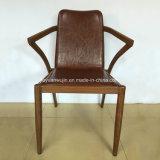Armrest (JY-F66)が付いている椅子を食事する商業型の金属の家具のホテル