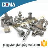 22611 garnitures hydrauliques à haute pression de tube et de pipe faites à partir de la connexion hydraulique courante de boyau d'escompte de l'acier inoxydable 316