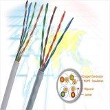 Netz-Kabel LAN-Kabel 24 der Qualitäts-UTP Cat5 AWG-LehreInnenkabel