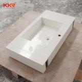 現代衛生製品のCorianの固体表面の浴室の壁は洗面器をハングさせた