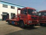 5 toneladas de uso medio camión de plataforma baja de la ingeniería de transporte camión portador de la máquina excavadora