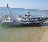 Liya 20' PVC/Hypalon bateau bateau gonflable à coque rigide de la Chine