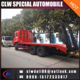 Machinery Delivery를 위한 평상형 트레일러 Truck Towing Truck Vehicle