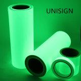 Incandescenza standard DIN67510 nella pellicola Photoluminescent di notte del vinile scuro di incandescenza