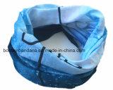 L'azzurro su ordinazione dei prodotti della fabbrica della Cina scherza il Bandanna tubolare senza giunte di Microfiber del poliestere