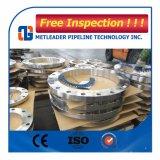 Bride en acier au carbone d'alimentation de patiner sur la norme ASTM A105 ANSI B16.5