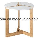 De bambu redonda moderno e simples pequeno para a sala de visitas
