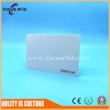 Tarjeta blanca del color RFID para el control de acceso