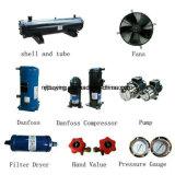 Spremuta che fa macchina ventilare il refrigeratore di acqua industriale raffreddato di temperatura insufficiente