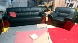 Modernes Sofa-Leder-Sofa-Büro-Sofa (FEC712)