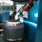半自動弁の溶接機装置
