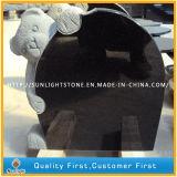 الصين مطلقة [شنإكسي] أسود صوّان روسيا صليب شاهد لأنّ قبر