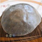 브라질 주사된 본래 머리 Toupee (PPG-l-01418)
