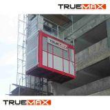 Marque Truemax Cage Twin Sc200/200tdv la construction d'un palan avec la peinture du mât
