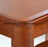 固体木のダイニングテーブルの居間の家具(M-X2889)