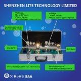 Leuchtstoffgefäß-Lampen-Birnecct-Lux-Prüfvorrichtung-Demo-Bildschirmanzeige-Energien-Messinstrument LED-CFL