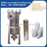 Cárter líquido multi y solo del acero inoxidable de la alta calidad de los Ss de bolso del filtro